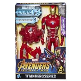 MARVEL AVENGERS INFINITY WAR TITAN HERO 12-INCH POWER FX Figures (Iron Man) - in pkg