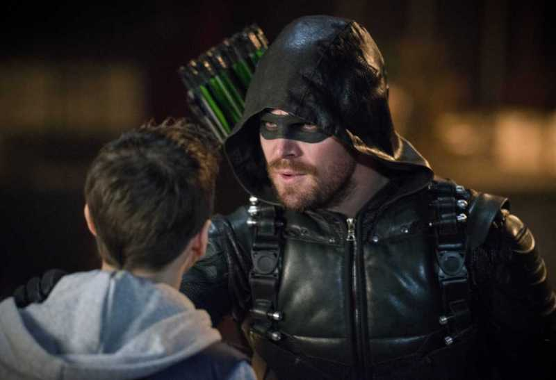 arrow the devil's greatest - william and green arrow