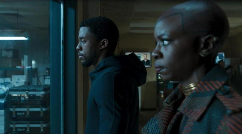 black panther box office chadwick boseman and danai gurira