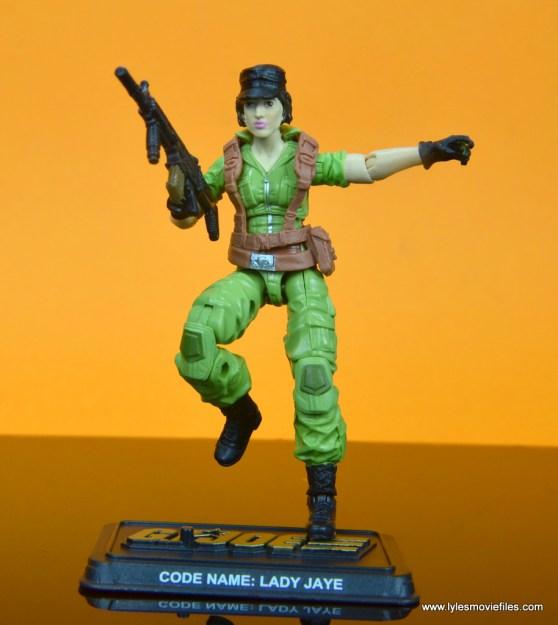 gi joe social clash lady jaye and baroness figure review set - leaping into battle