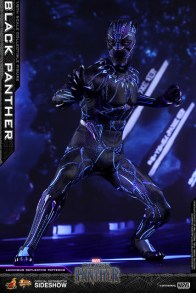 hot toys black panther figure - led light figure