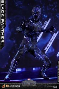 hot toys black panther figure - led light figure