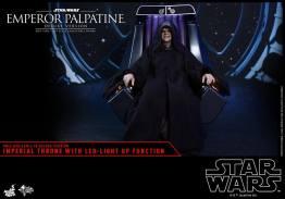 hot toys emperor palpatine figure -sitting alone