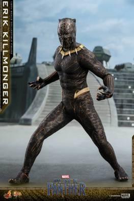 hot toys erik killmonger figure -wide stance