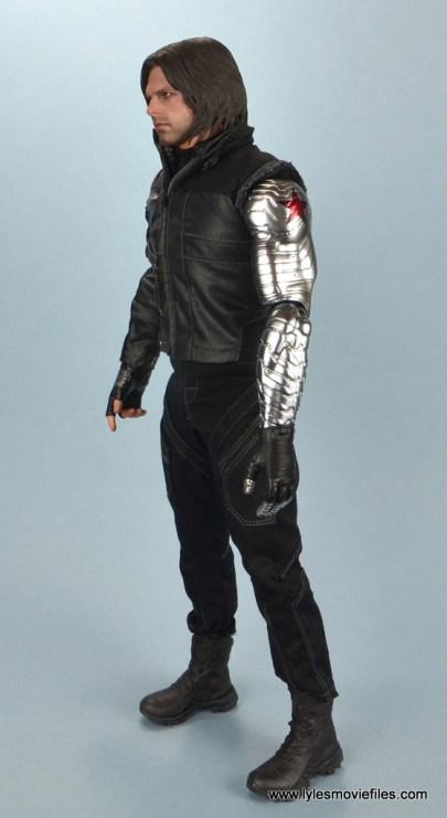 hot toys the winter soldier civil war figure review - left side