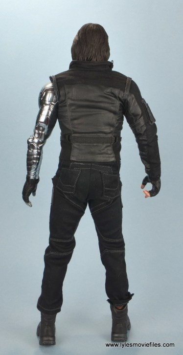 hot toys the winter soldier civil war figure review - rear
