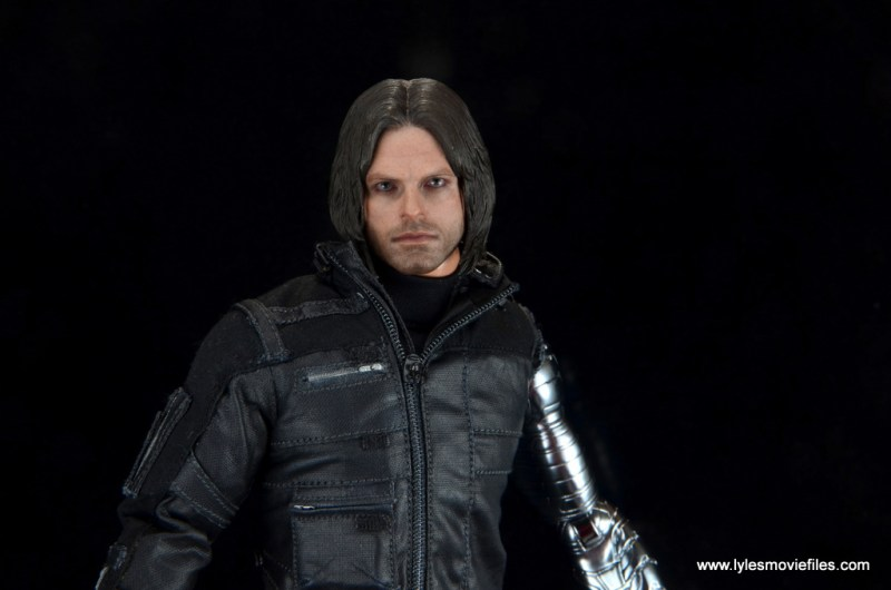 hot toys the winter soldier civil war figure review - wider detail shot