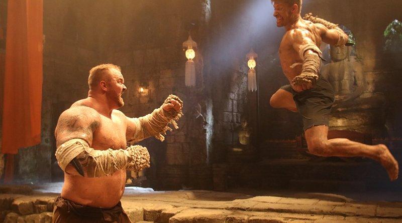 kickboxer retaliation Hafþór Júlíus Björnsson and alain moussi