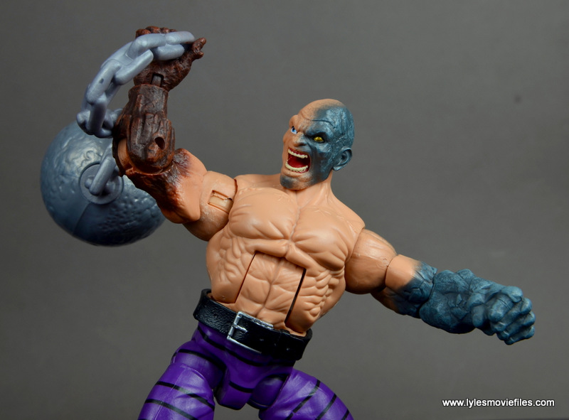 Marvel Legends Spiderman Absorbing Man BAF Left Arm