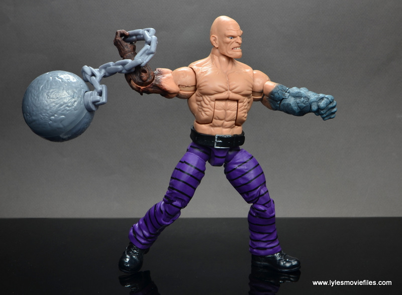 marvel legends absorbing man figure review - wide stance