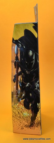 marvel legends black panther figure review - package side