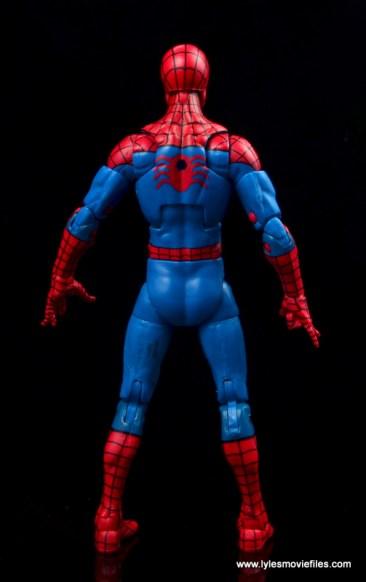 marvel legends retro spider-man figure review -rear