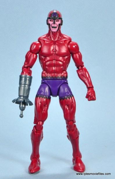 marvel legends shuri and klaw figure review -klaw front