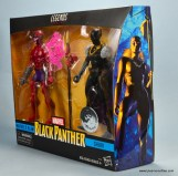 marvel legends shuri and klaw figure review -package shuri side