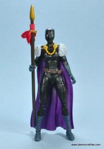 marvel legends shuri and klaw figure review -shuri cape front