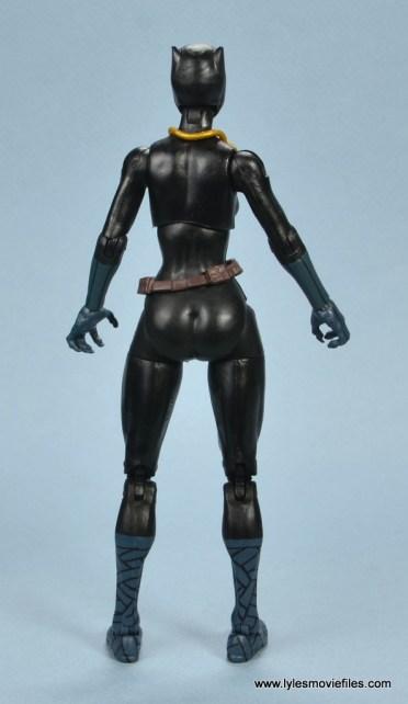 marvel legends shuri and klaw figure review -shuri rear