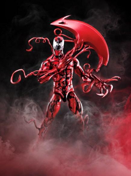 marvel legends venom wave Carnage