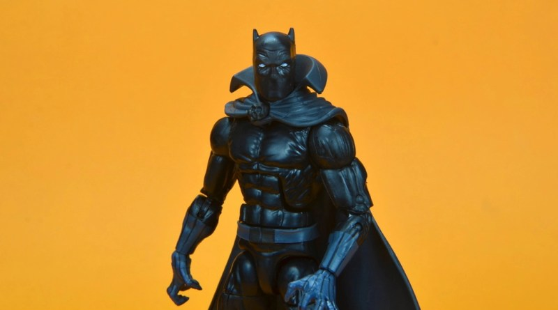 marvel legends wal-mart exclusive black panther figure review - main pic