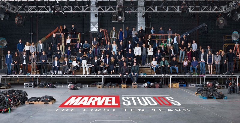 marvel studios first ten years class photo