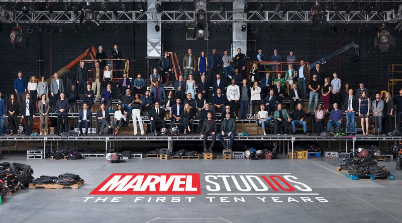 marvel studios first ten years class photo