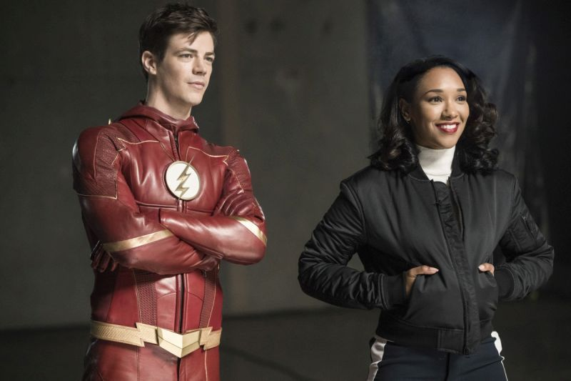 the flash subject 9 review - barry and iris