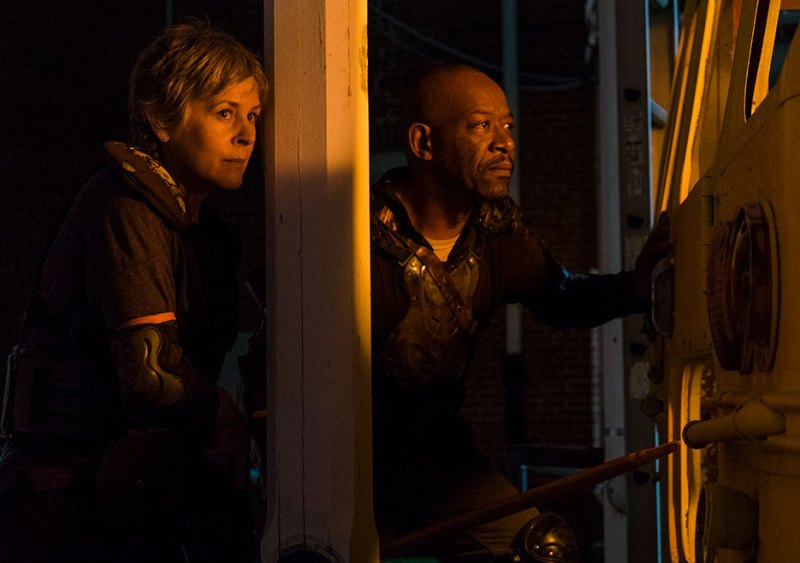 the-walking-dead-honor review-carol-and morgan