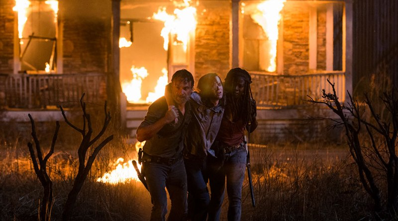 the-walking-dead-honor review-rick-carl-michonne