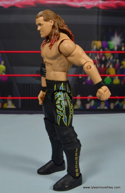 wwe defining moments chris jericho figure review - left side