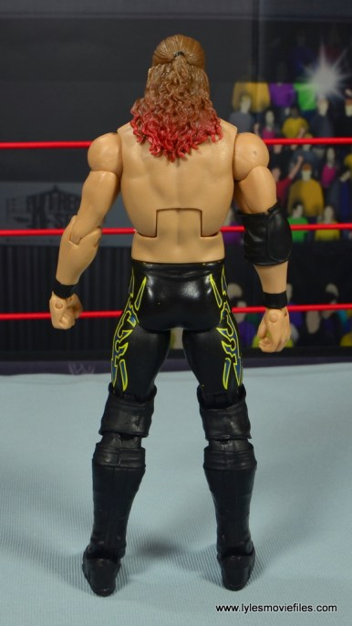 wwe defining moments chris jericho figure review - rear