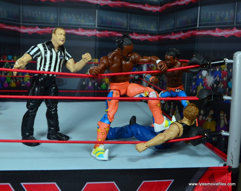 wwe elite 52 new day figure review - march of the unicorns to dean ambrose