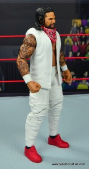 wwe elite 54 the usos jimmy and jey usos figure review - jey uso vest right side