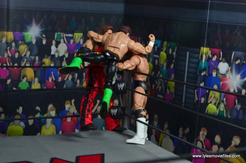 wwe elite bash at the beach sting figure review - stinger splash to nash and luger