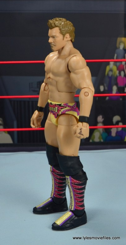 wwe elite chris jericho the list exclusive figue review -left side