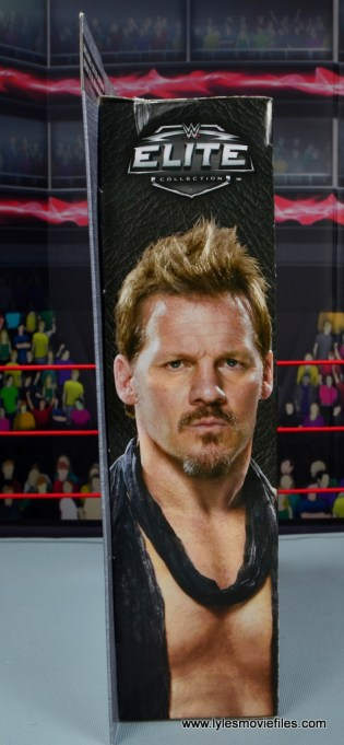 wwe elite chris jericho the list exclusive figue review -package side