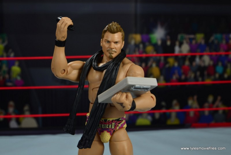 wwe elite chris jericho the list exclusive figue review -you made the list