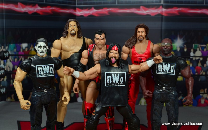wwe elite flashback series syxx figure review - the nwo