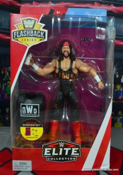 wwe elite syxx figure review - front package