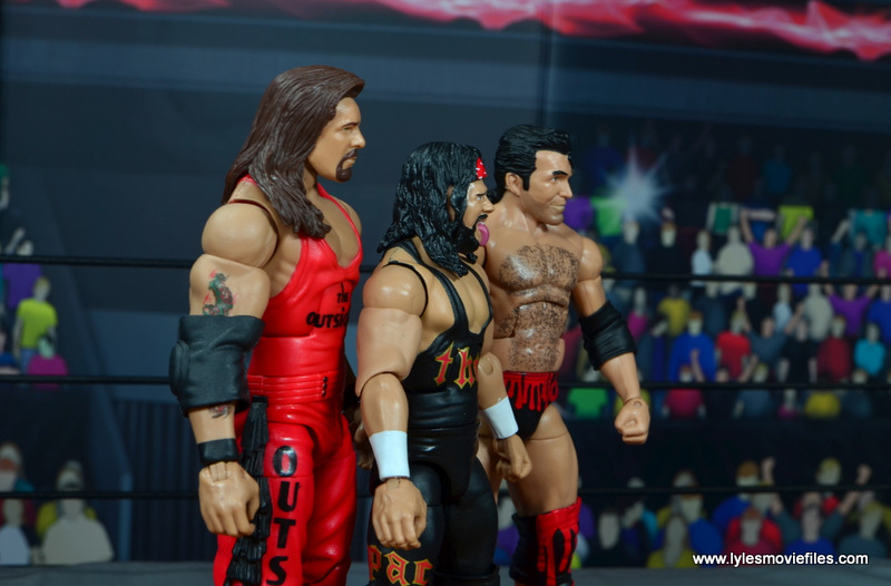 wwe elite syxx figure review - original wolfpac with kevin nash and scott hall