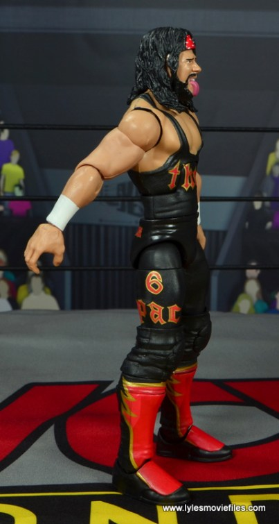 wwe elite syxx figure review - right side