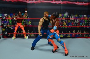 wwe elite xavier woods figure review -discus forearm