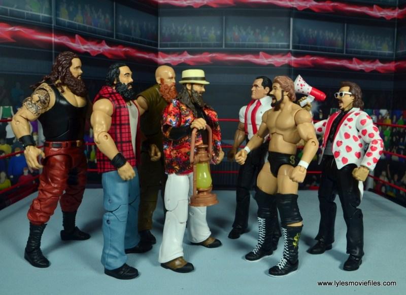 1. march bashness 2018 1st round winners Money Inc vs Wyatt Family