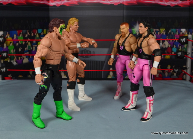1. march bashness 2018 2nd round winners Hart Foundation vs Sting and Luger