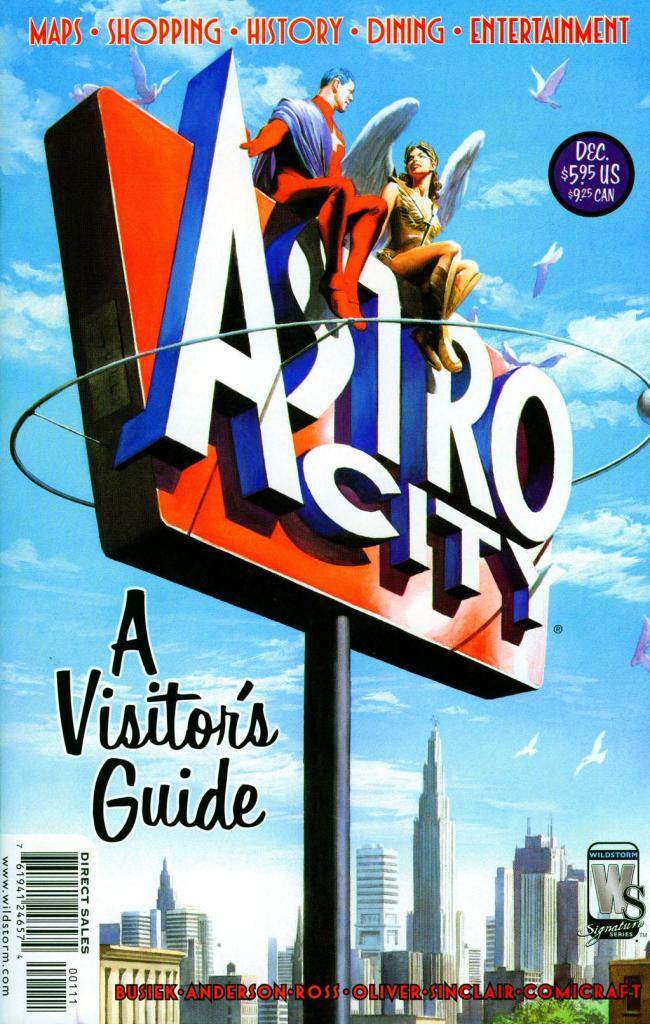 Astro City - A Visitors Guide (cover painting)