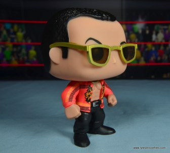 Funko Pop! WWE The Rock figure review - right side