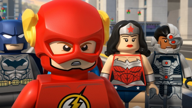 LEGO DC Comics Super Heroes The Flash review - batman, flash, wonder woman and cyborg