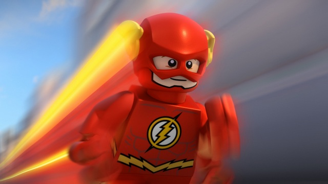LEGO DC Comics Super Heroes The Flash review - the flash running