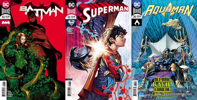 dc comics reviews 3/21/18