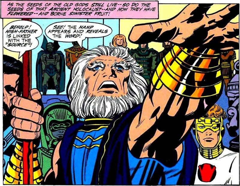 dc comics highfather