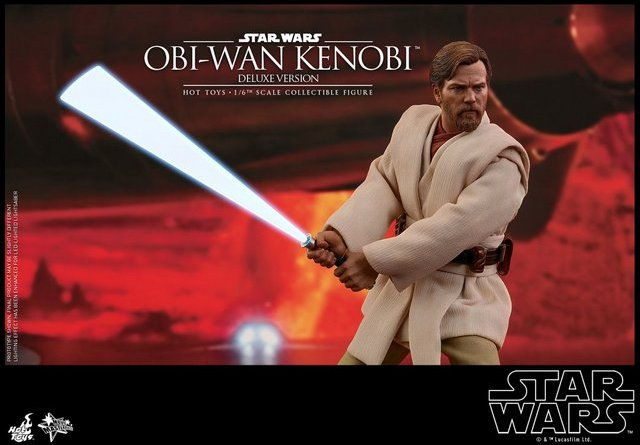 hot toys revenge of the sith obi wan kenobi figure -main pic
