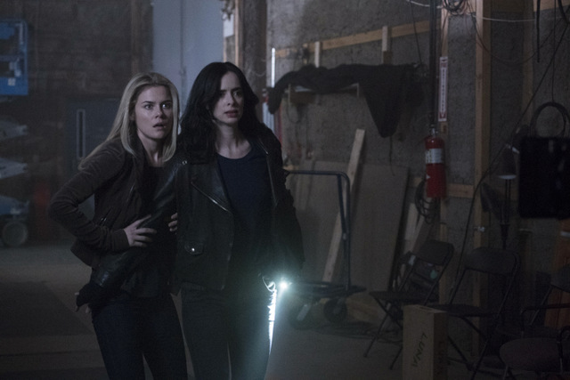 jessica jones aka freak accident - trish and jessica